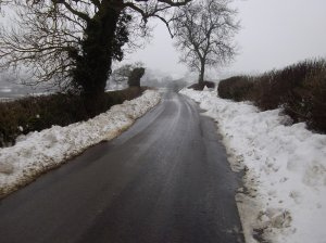 Heavy Snow, Hoby Road, Ragdale